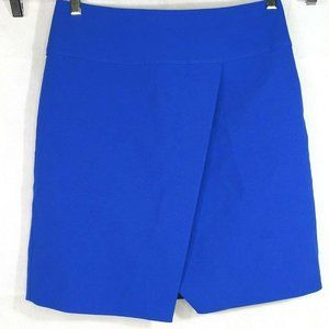 J Crew Crossover Wrap Pencil Skirt Size 4 Tall